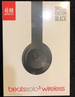 Buy beats by dr dre solo 3 wireless bluetooth headphones rose gold - Beats By Dr Dre Solo3 Wireless Headband Headphones Black
