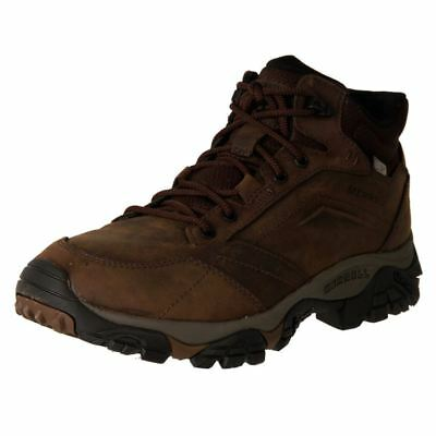 New Merrell Men's Leather Waterproof Hiking Boots Moab Adventure Mid Cheap