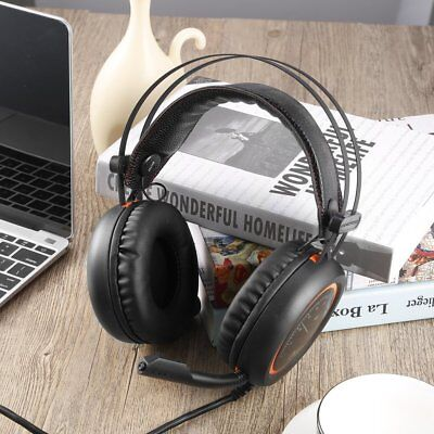 Wired GTming Headphones USB 7.1 Surround Sound Headset with Mic for Computer GT