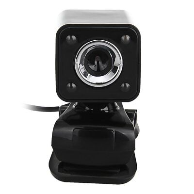 1080P 800W 4 LED HD Webcam Camera + USB 2.0 Microphone for Computer PC Lapt W2G8