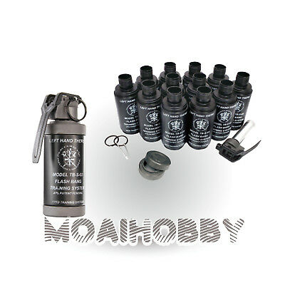 HAKKOTSU VALKEN Thunder B CO2 Sound Grenade Smoke Shell package with 12 Shell
