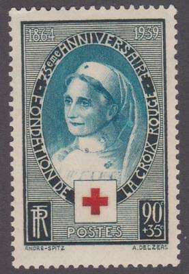 France 1939 #B81 75th Anniversary of the International Red Cross Society - MH