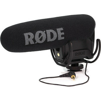 New Unused Rode VideoMic Pro Rycote Lyre Shock Mount Shotgun Microphone Mic