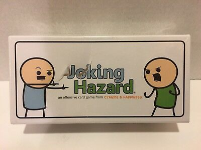 Joking Hazard Offensive Card Game Cyanide & Happiness New Box Adults Party Game!