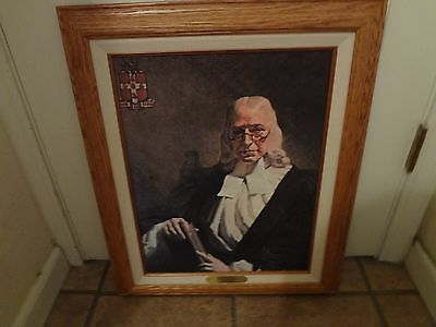 John Wesley Oil Painting