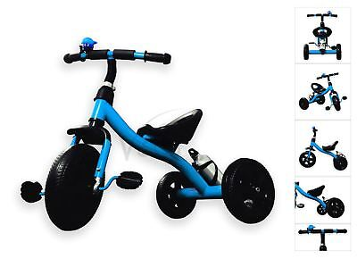 New Baby Kids Toddler Children Infant 3 Wheel Tricycle Trike Bike Scooter BLUE