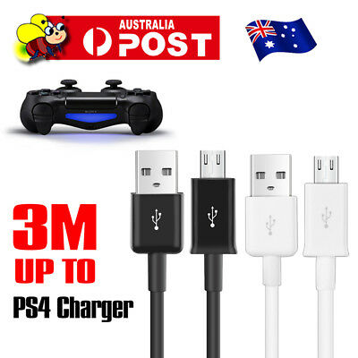 USB Charger Charging Cable for PLAYSTATION PS4 Dualshock 4 Wireless Controller