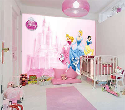 Adorable Princesses 3D Full Wall Mural Photo Wallpaper Printing Home Kids Decor