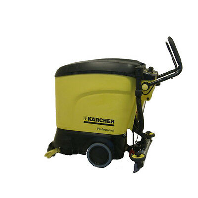Karcher Br45/40C  Battery Scrubber Dryer - Cylindrical Pad