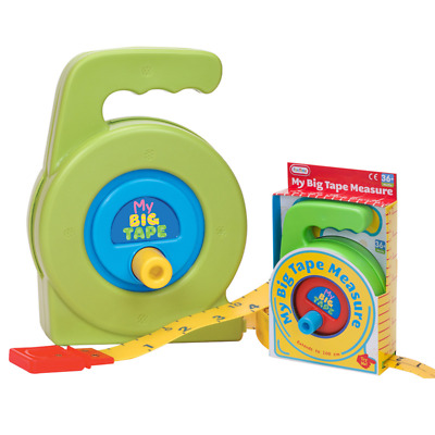 Kids Tape Measure Robust Educational Teaching Toy Role Play Pretend Dad Help