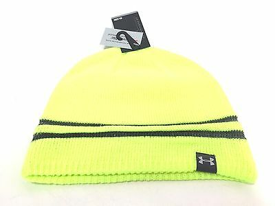 Under Armour Men's Reflective Beanie Hi Vis Run OSFA 3M Scotchlite