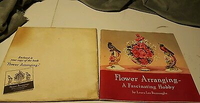 """1940 Coca-Cola Company's """"Flower Arranging Booklet with- Coke Display Ideas Back"""