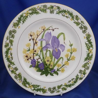 Royal Worcester/rhs Seasons Collector Plate - Winter Flowers - No.1