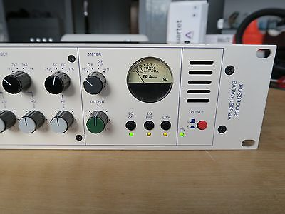 TL Audio Ivory 5051 Vacuum Tube Mono Mic/Instrument Preamp / Channel Strip