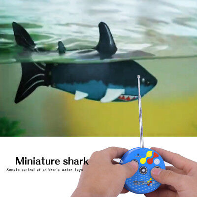 Radio Remote-Controlled Toy Soda Can Radio Shark RC Electric Water Kid's Toy OB