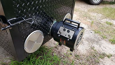 Pro Perfect Draft Blower BBQ Smoker Grill Trailer Food Truck Concession Business