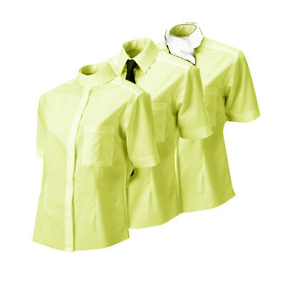 Equetech 3 in 1 Competition Shirt – Yellow and White