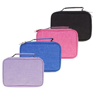 High Capacity Pen Pencil Case Box Holder Multi-layer Stationery Bag Pouch Gift