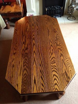 Solid Oak Antique Coffee Table ☕️☕️