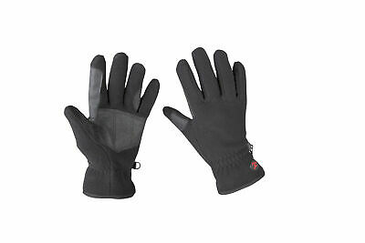 RED HORSE Fleece Riding Gloves - Leather Reinforcement