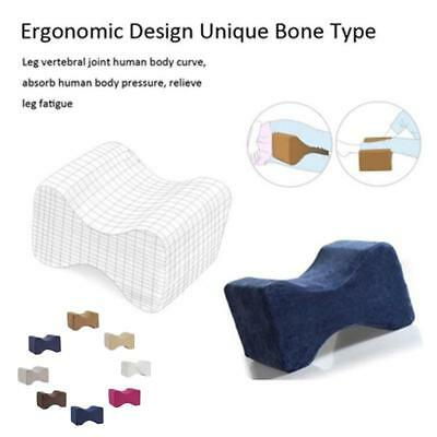 Knee Pillow Clip Leg Positioner Memory Foam Wedge Rebound Memory Clamp Massage