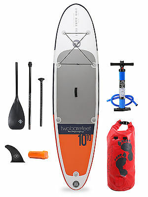 """Sport Air 10'10 x 4"""" Inflatable Paddle Board SUP + Starter Package"""