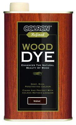 Colron 250ml Refined Lacquer Wood Dye In Different Colours