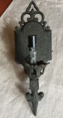 JC Virden Antique Wall Sconce Dated 1930