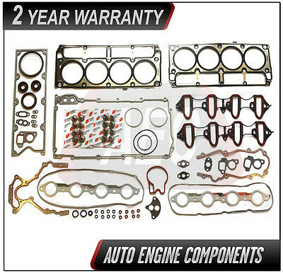 Full Gasket Kit Set 4.8 5.3 L for Chevrolet GMC Buick Cadillac #DFS-416