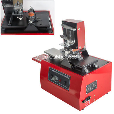 110V Electric Pad Printer Printing Machine T-Shirt Ink Print for Cup Bottle