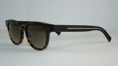 070d4282994 Dior Homme Blacktie 182S M61 HA Havana   Black Sunglasses Brown Gradient  Size 50