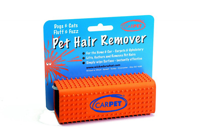 Carpet Rubber Pet Hair Remover Cleaner Dog Cat Fur Fluff Fuzz Lint Home Cars New