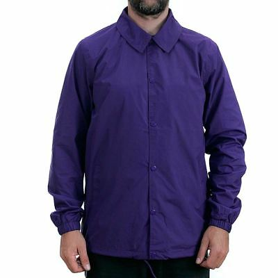 Dickies Torrance Coach Jacket Purple  Coat Work Wear Skate New Free Delivery