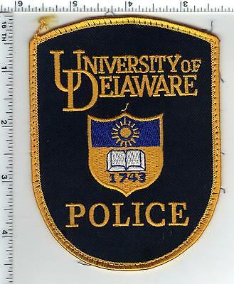 University of Delaware Police uniform take-off Shoulder Patch from the 1980's
