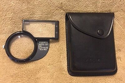 Yashica Electro 35 Auto-Up Kit Macro Lens with Leather Case - Very Good