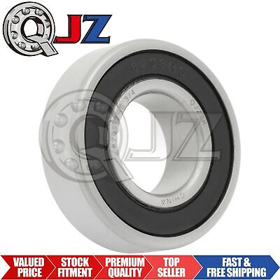 1x 6203-2RS Ball Bearing 17mm x 40mm x 12mm Rubber Sealed Premium RS 2RS QJZ NEW