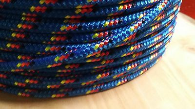 1/4 x 100 ft. Double Braid Yacht Braid Polyester.Sailboat Line/ Marine Rope