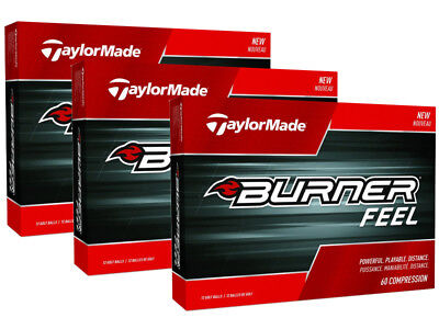TaylorMade Burner Feel 3 Dozen Golf Balls White