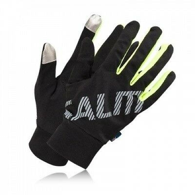 (X Small/Small, Black) - Salming Running Gloves - SS15. Brand New