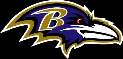 Baltimore Ravens Vinyl Decal / Sticker 5 sizes!!