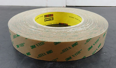 3M Scotch VHB Adhesive Transfer Tape 5 MIL Poly Coated Liner F9469PC