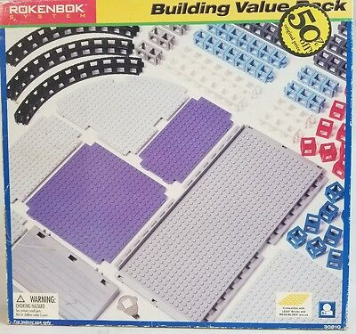 New Rokenbok 158 pieces Building Systems value pack