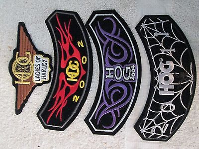 Harley Davidson Patches Mixed Lot Of 4 NEW