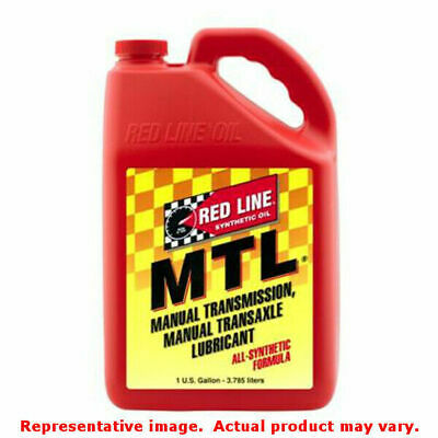 Red Line Synthetic Gear Oil 50205 Fits:UNIVERSAL 0 - 0 NON APPLICATION SPECIFIC