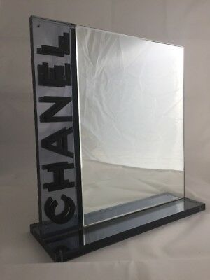 Chanel Table Top Mirror For Chanel Collector Hand Mirror With Logo Very Rare