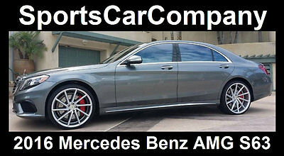 2016 Mercedes-Benz S-Class  2016 MERCEDES BENZ AMG S63 ONE OWNER CALIFORNIA CAR  MSRP =$169k! TODAY $114,998
