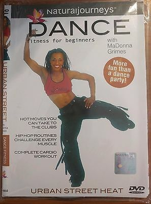 Dance Fitness for Beginners With MaDonna Grimes Urban Street Heat DVD