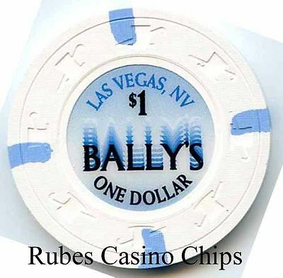 1.00 Chip from the Ballys Casino in Las Vegas Nevada