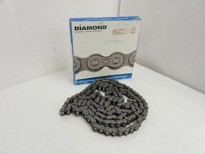 "141088 New In Box, Diamond XAP-1233-D-010 SS Riveted Roller Chain #60, 10"" Lengt"