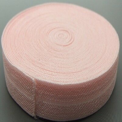 20mm Pink Fold over elastic